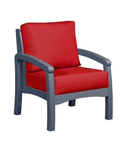 CRP Products Bay Breeze Coastal Collection - Slate Grey/Jockey Red