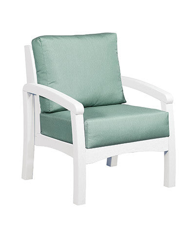 CRP Products Bay Breeze Coastal Collection - White/Canvas Spa