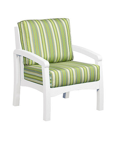 CRP Products Bay Breeze Coastal Collection   White/Foster Surfside