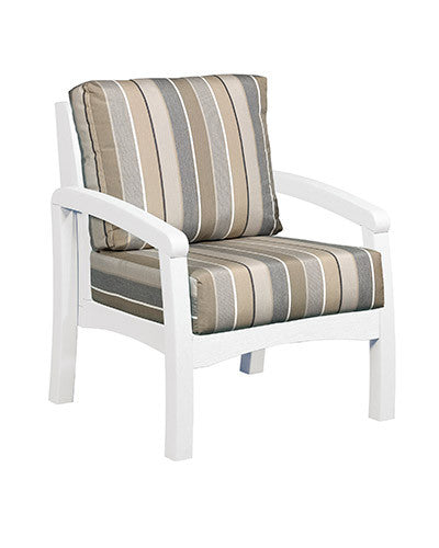 CRP Products Bay Breeze Coastal Collection - White/Milano Charcoal
