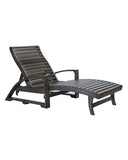 CRP Products Generation Line Chaise Lounge (hidden wheels)