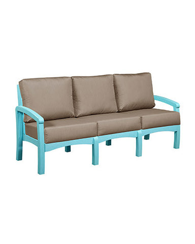 CRP Products Bay Breeze Coastal Collection - Aqua/Taupe