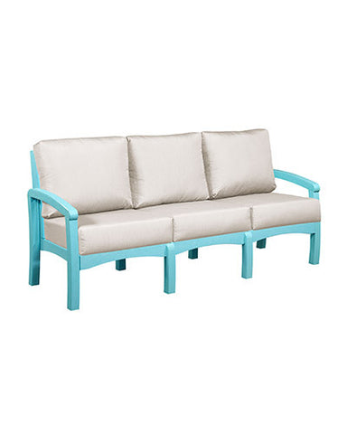 CRP Products Bay Breeze Coastal Collection - Aqua/Canvas Natural