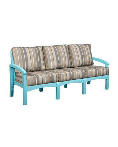 CRP Products Bay Breeze Coastal Collection - Aqua/Charcoal Milano