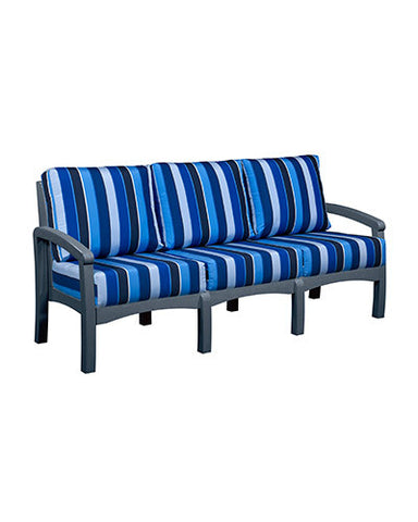 CRP Products Bay Breeze Coastal Collection - Slate Grey/Milano Cobalt