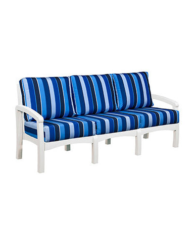 CRP Products Bay Breeze Coastal Collection - White/Milano Cobalt
