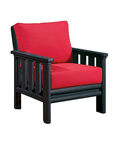 CRP Products Stratford Collection - Black/Jockey Red