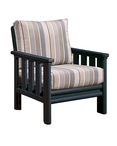 CRP Products Stratford Collection - Black/Milano Charcoal