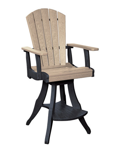 CRP Products Generation Line Swivel Pub Chair