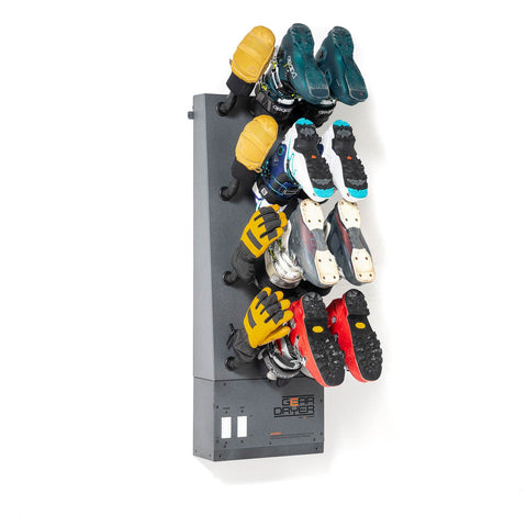 Gear Dryer : 6 Pair Wall Mount Boot Dryer