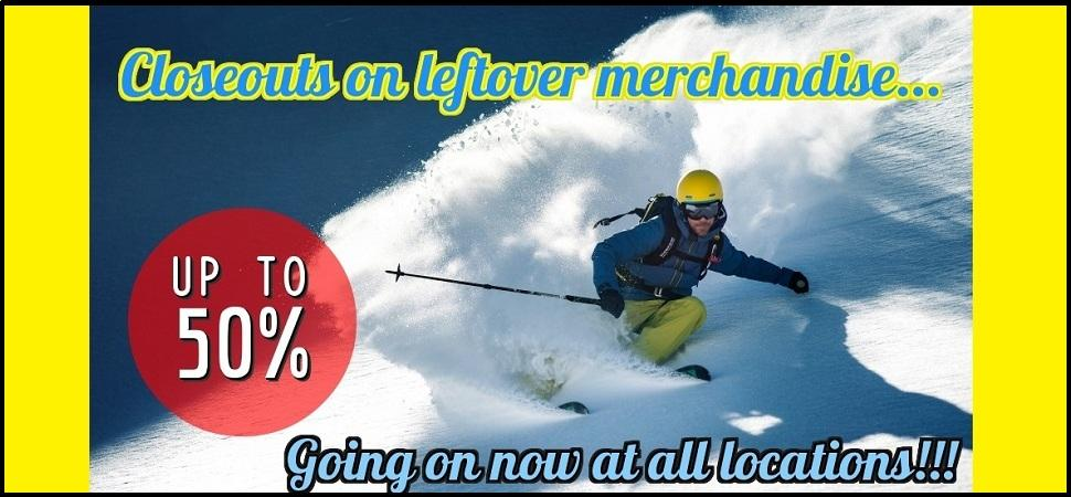 Ski and Snowboard Sales