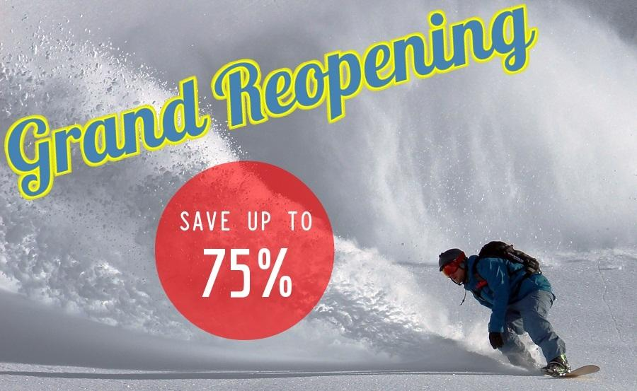 Ski and Snowboard Sale