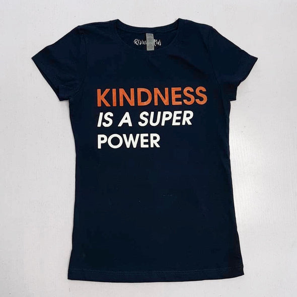 Girls Kindness is a Super Power T-Shirt
