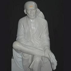 SAI BABA IDOL from Shirdi Sai Mandir