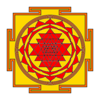 Tripura Sundari Yantra for Lokvasya and Success in Career / Business / Celebrity life