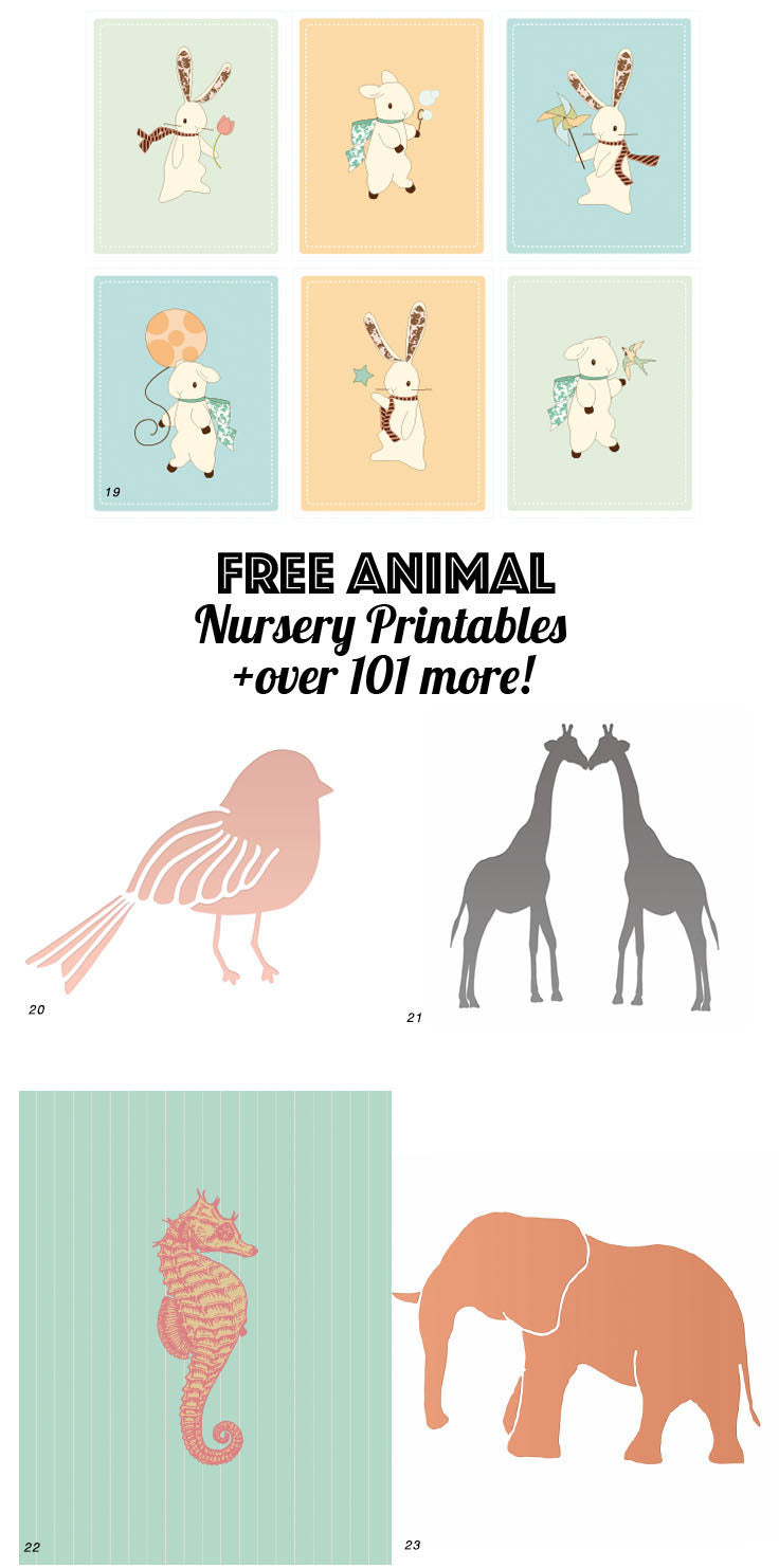 photograph about Free Printable Nursery Art referred to as 126 Totally free Nursery Printables: Final Lead in direction of NURSERY Artwork