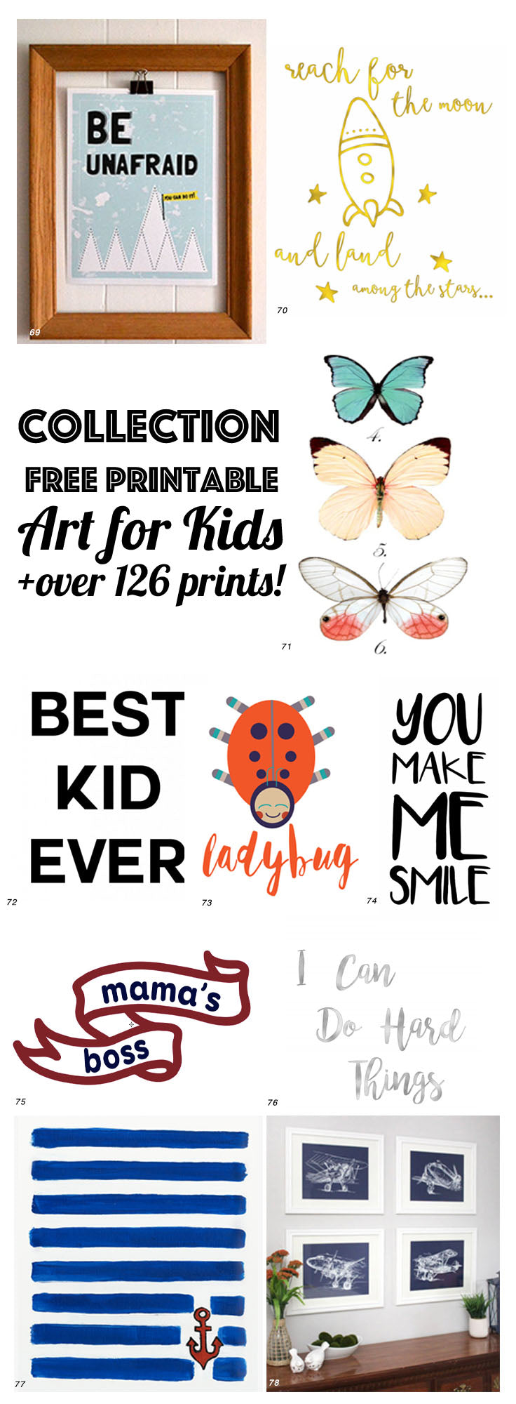 free printable art for kids - Free Printable Art For Kids