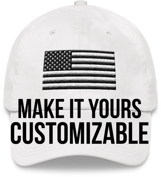 AMERICAN FLAG HAT Customizable | Exclusively Made | FREE SHIPPING