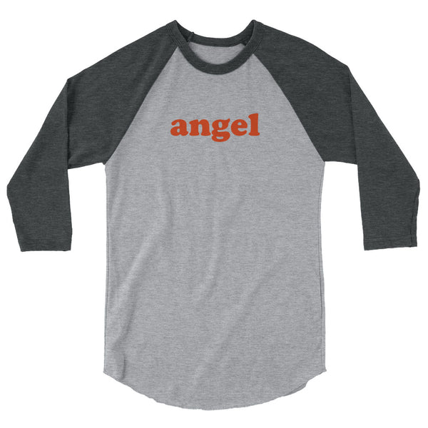Angel Baseball Tees [Grey/Charcoal]