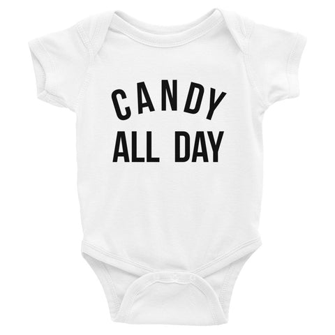 CANDY ALL DAY ONESIE
