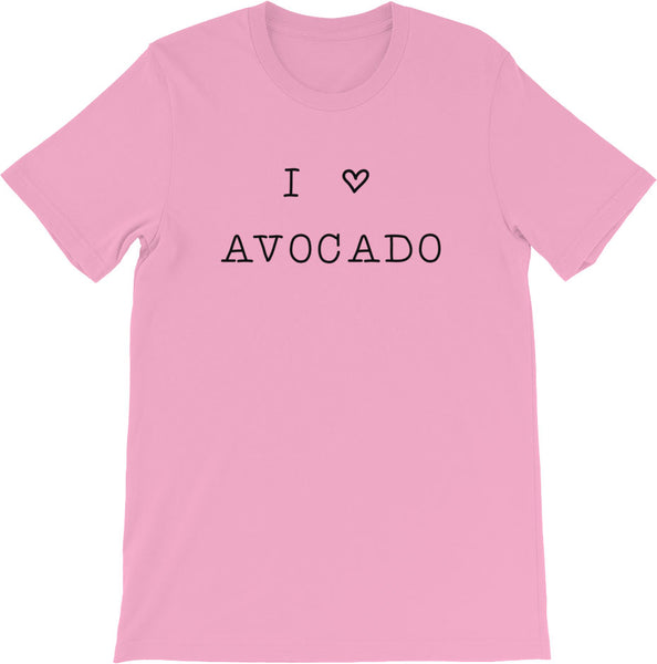 I LOVE AVOCADO PINK