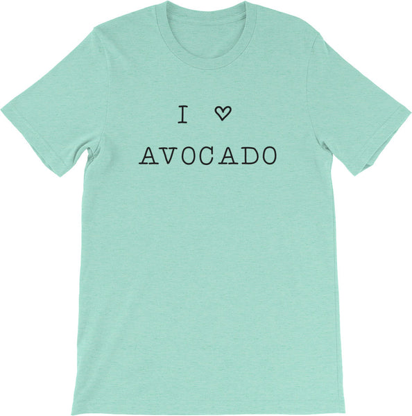 I LOVE AVOCADO SHIRT