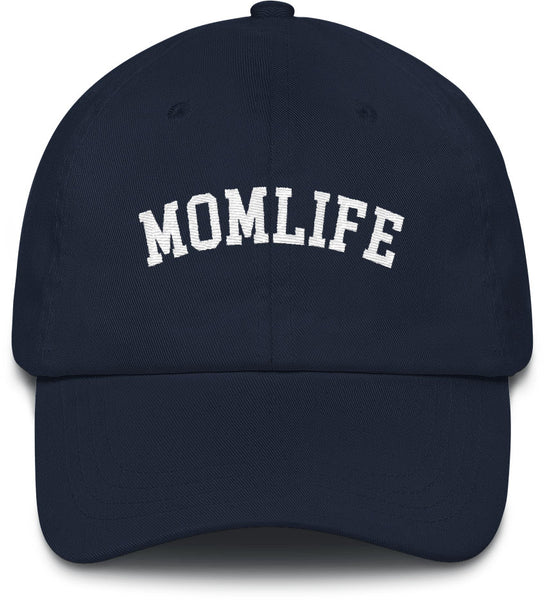 MOM LIFE HAT NAVY