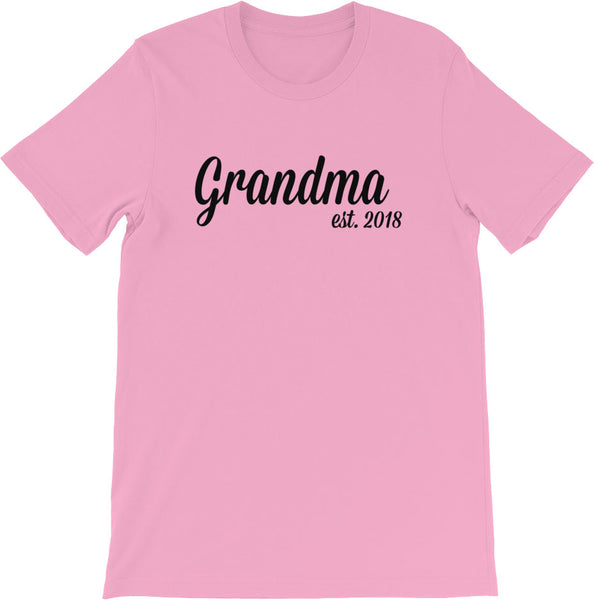 New Grandma Shirts | Multiple Colors
