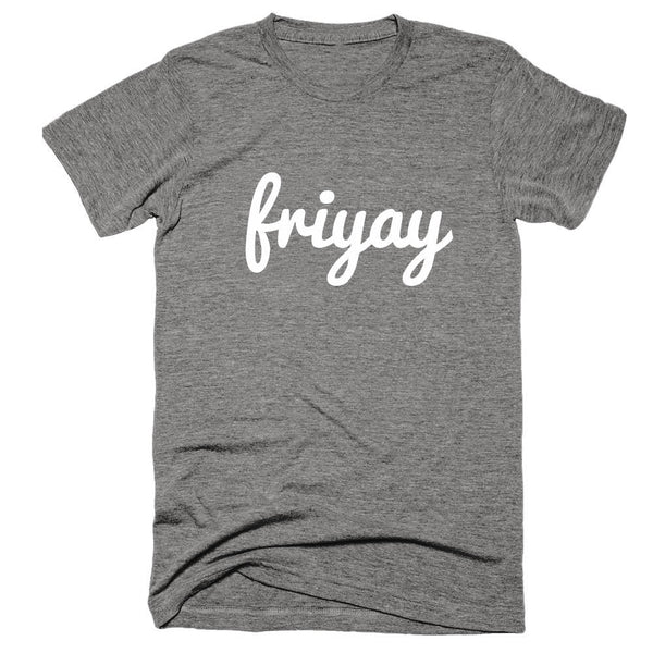 FRIYAY Tee, Friyay Top, FRIYAY T-Shirt | Heather Grey