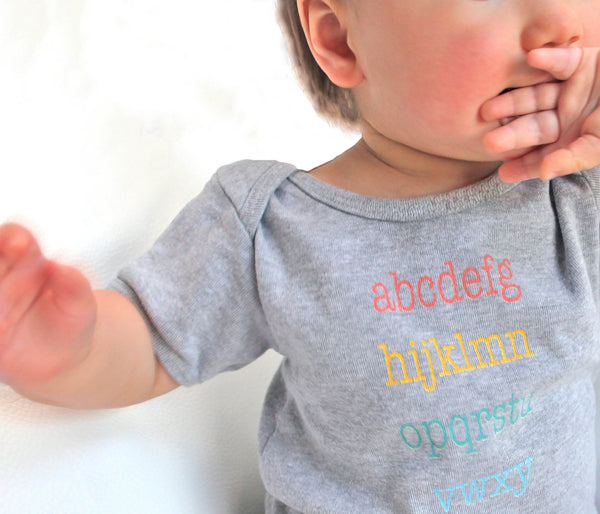 ABC Onesie | Kids & Babies