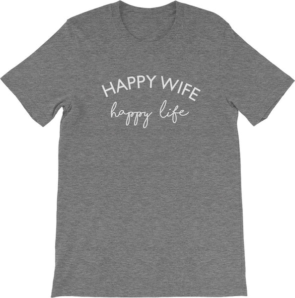 HAPPY WIFE HAPPY LIFE | Get CUTE WITH US | CUTE + TEES