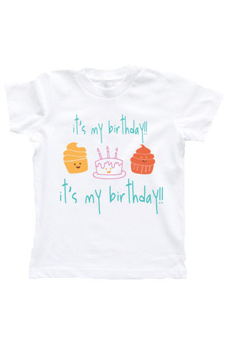 Kids & Toddlers Birthday T-Shirt - little cutees - 1