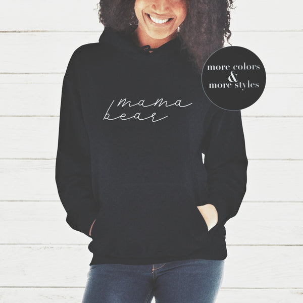MAMA BEAR HOODIE | MAMA BEAR HOODIES | MAMA SHIRT | GIFTS FOR MOM | #MAMA | #MOMLIFE