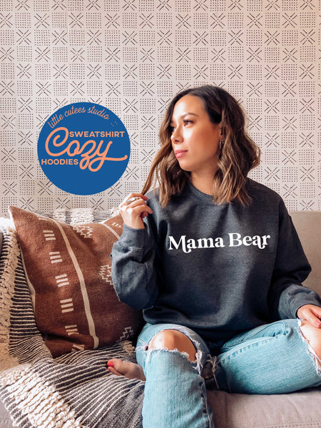 Mama Bear Sweatshirt-2