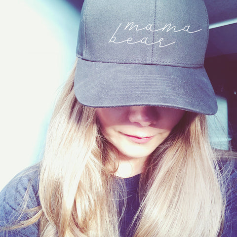 MAMA BEAR HAT | MAMA BEAR HAT BLACK | MAMA BEAR | MOM HAT | GIFTS FOR MOM | #momlife | #ootd