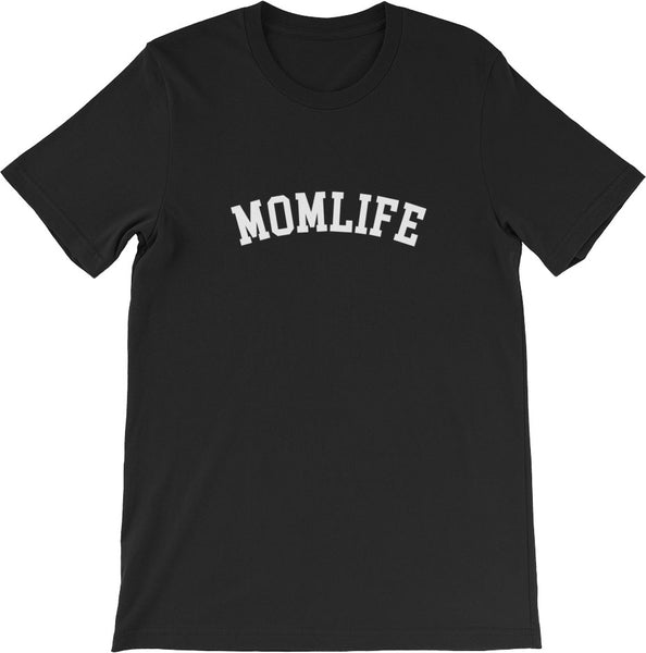 MOM LIFE SHIRT BLACK | CUSTOMIZE IT YOUR WAY!