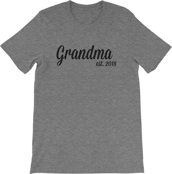 New Grandma Shirt | Multiple Colors