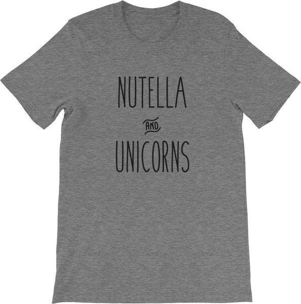 Nutella & Unicorns Shirt | Multiple Sizes | Multiple Colors!