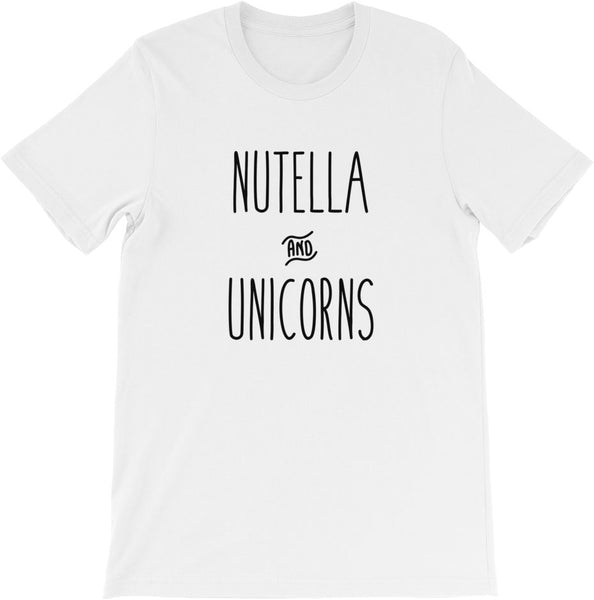 Nutella & Unicorns | Multiple Sizes | Multiple Colors!