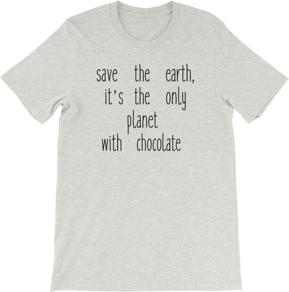 SAVE THE EARTH SHIRT | MULTIPLE SIZES & COLORS