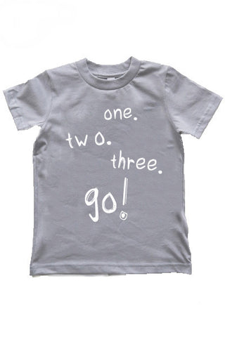 Let's Go! | Kids Slate T-Shirt - little cutees - 1