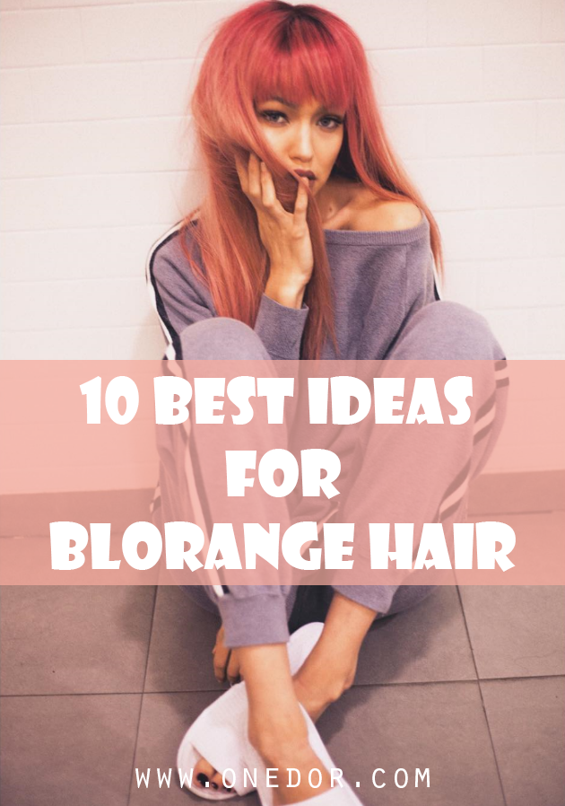 10 Best Blorange Hair Ideas for This Summer