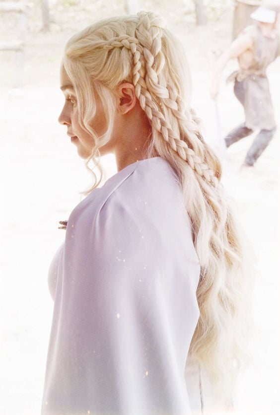 Daenerys_game of throne_hairstyles_braided