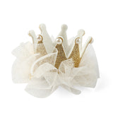 Baby Girls Crown & Swan Hair Bows Clips Barrettes for Teens kids Toddlers