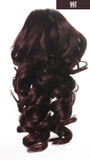 "12"" Curly Synthetic Clip In Claw Ponytail Hair Extension Synthetic Hairpiece with a jaw/claw clip"
