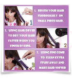 Professional Temporary Hair Color Highlights & Streaks Touch-up