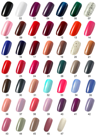 One Step Gel Polish UV Led Cured Required Soak Off Nail Polish No Base or Top Coat Nail Need - OneDor