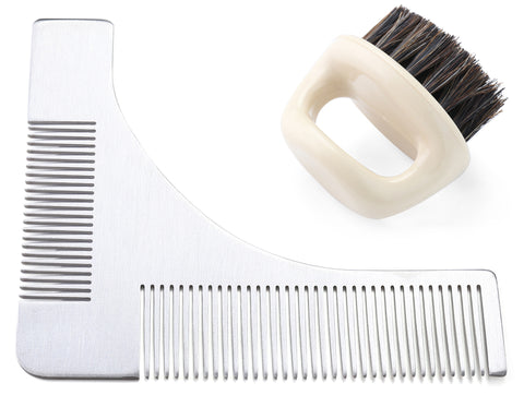 Stainless Steel Beard Styling Shaper Template Tools