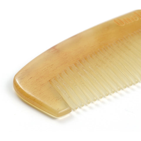 Handmade 100% Premium Quality Natural Sheep Horn Anti-Static Hair Comb - OneDor