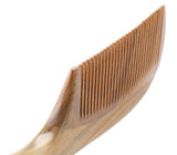 Handmade 100% Natural Green Sandalwood Hair Combs